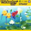 Фантазии блоков мастеров Thinkertoy игрушка Peafowl всеобщей цветастой животная
