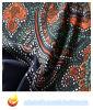 Tela de poliéster de impresión de agua para el vestido (XY-P20150026S)