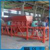 Desfibradora estable del plástico del funcionamiento/madera/de la vida de la basura con el eje doble