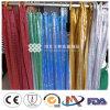 Flexible Sparkling 3mm Flat Shape Aluminium Sheet Cloth para Decoration