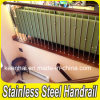 Diseño moderno interior Escalera Barandilla acero inoxidable 304 balaustre