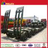 Multi Mittellinie 100-150 Tonnen halb Förderwagen-niedrige Bett-Schlussteil-