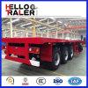 Hete Verkoop 3 Aanhangwagen van het Bed van de Container van de As 40FT de Vlakke
