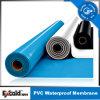 Het hete Waterdichte Membraan van pvc van Polyvinyl Chloride van de Verkoop voor Dak/Kelderverdieping/Garage/Tunnel (ISO)