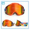 Desproporcionado personalizado rasga fora óculos de proteção da motocicleta sobre o capacete
