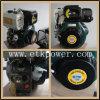 Motor diesel del encendido por compresión (14HP con la caja verde del ventilador)