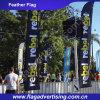 Fácil usar-se, bandeira ao ar livre feita sob encomenda duradouro do evento, bandeira do indicador, bandeira da pena