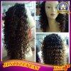 Парик Ombre парика волокна 2 волос скручиваемости высокотемпературным покрашенный тоном синтетический