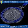 La Cina 2017 unica il medaglione della medaglia del ricordo placcato oggetto d'antiquariato della pressofusione