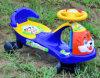 Carro do balanço do bebê com tigre dos desenhos animados, com música, luz de piscamento