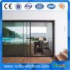 Утесистые подъем и раздвижная дверь с двойным застекленным стеклом