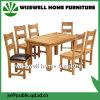 Juego de muebles de comedor de madera de roble con 6 sillas (W-5S-995)
