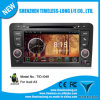 Reproductor de DVD de Car del androide 4.0 para Audi A3 2003-2013 con la zona Pop 3G/WiFi BT 20 Disc Playing del chipset 3 del GPS A8