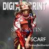 デジタルによって印刷されるサテンのスカーフ