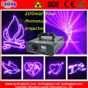 200MWローズStage AnimationレーザーProjector (LV820RB)
