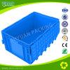 زرقاء لون الاتّحاد الأوروبيّ وعاء صندوق مع يدار غطاء [بلستيك بوإكس]