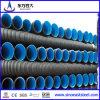 Mit hoher Schreibdichtepet Doppeltes-Wall Corrugated Pipe für Municipal Engineering Rainwater