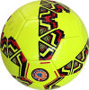 Yellow alaranjado Color 32panels Machine Stitched Soccer Ball