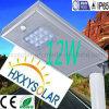 Tutti in un indicatore luminoso di via solare del LED 12W