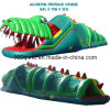 Aufblasbares Alligatorhindernis-Kurs-Spiel (BMOT29)