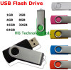 2014 metal de la venta caliente USB Pendrive USB Swivel Flash Drive (HBU-085)