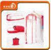 Sacco nuziale lungo libero non tessuto della manopola dell'indumento del coperchio dell'abito del vestito da cerimonia nuziale del PVC