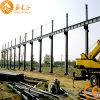 천장 기중기 (SSW-384)를 가진 강철 구조물 작업장
