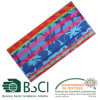 Coton 100% Beach Towel avec Mani Flowers Pattern