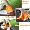 Caricamenti del sistema portatili del coperchio del pattino della pioggia del PVC di formato abbastanza arancione della caviglia