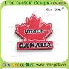 Магниты Канада холодильника подарков промотирования мягкие резиновый подгонянная сувениром (RC-CA)
