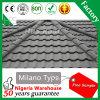 石造りの上塗を施してある金属のガーナの熱い販売に屋根を付ける多彩な屋根瓦の建築材料