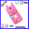 Caixa animal colorida do telefone do silicone da borracha de silicone