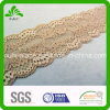 Aprikose Tiny Flower Pattern Elastic Lace mit Good Tenacity
