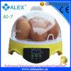 Mini huevos del asimiento 7 de la incubadora del huevo del pollo
