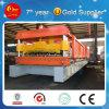Ligne automatique pain en acier coloré de roulement de toiture de PLC de Hky de feuille de revêtement de mur formant la machine