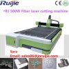 Cortadora del laser de la fibra del fabricante 500W de China Jinan