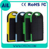 Vrai Capacity 5000mAh Waterproof Solar Powerbank pour Wholesale Market