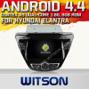 Witson Android 4.4 Car DVD para Hyundai Elantra 2013-2014 com A9 o Internet DVR Support da ROM WiFi 3G do chipset 1080P 8g