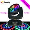 Iluminación principal móvil de DJ de la colada del zumbido LED