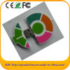 De aangepaste Bestuurder van pvc USB van de Vorm van de Wortel van het Ontwerp Zachte (B.V. 606)