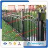 Frontière de sécurité de fer travaillé préfabriquée/clôture en métal