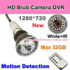 Bewegung Detection 720p Bulb Camera DVR