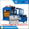 Produto da Quente-Venda na linha de produção inteiramente auto Qt4-15 do tijolo do cimento hidráulico de Tanzânia feita em China