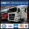Tractor de terminais Sinotruk HOWO 4X2 para transformação de portas