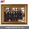 Mogano, oro, blocco per grafici del certificato della foto di prezzi di fabbrica di colore verde