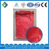 Мешок сетки Drawstring Flat&Round красного цвета с логосом клиента для Vegetables&Fruits