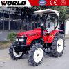 ディーゼル機関の世界のブランド55HPの農場トラクター