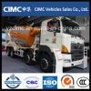 Carro 12 del mezclador concreto de Hino 8X4 a 14cbm