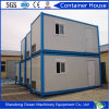 Casa modular do recipiente da casa pré-fabricada do recipiente do edifício do material de construção de aço leve