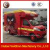 Mini carro del helado del carro del alimento del vendedor para la venta
